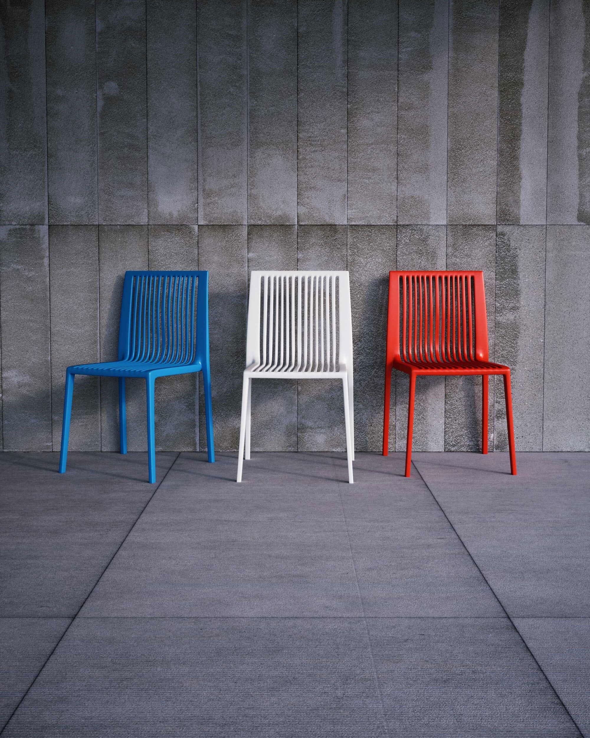 Image 3D de chaise