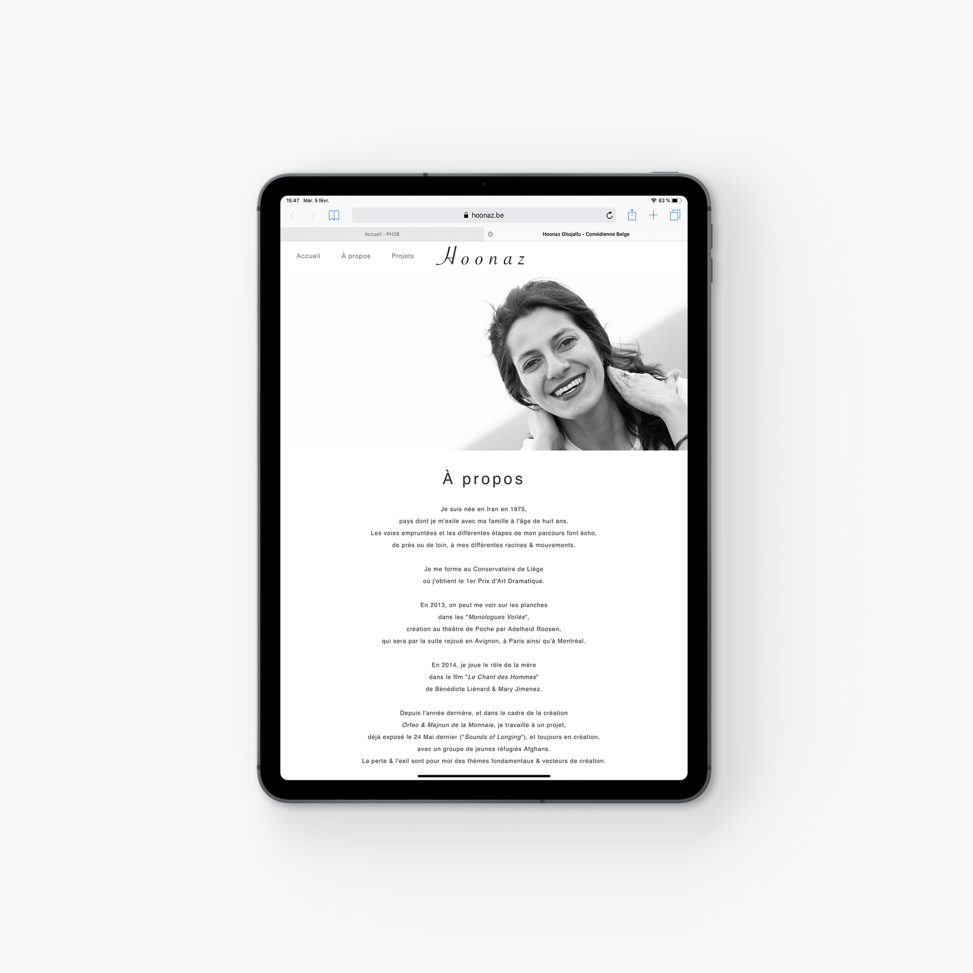 Site Web Hoonaz