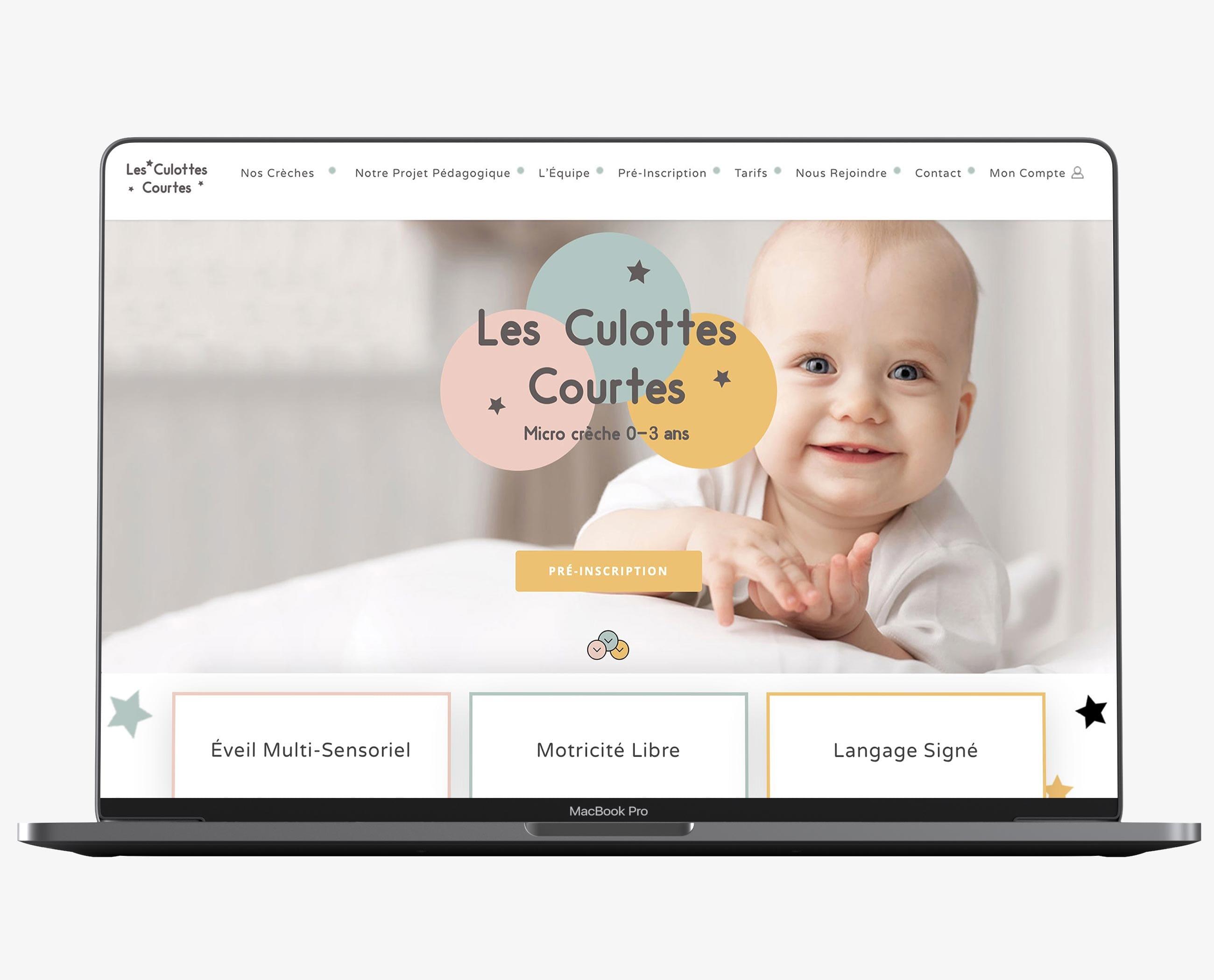 Site Web Les Culottes Courtes